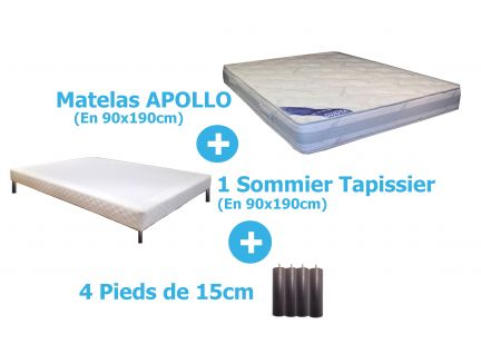 PACK APOLLO en 90x190cm