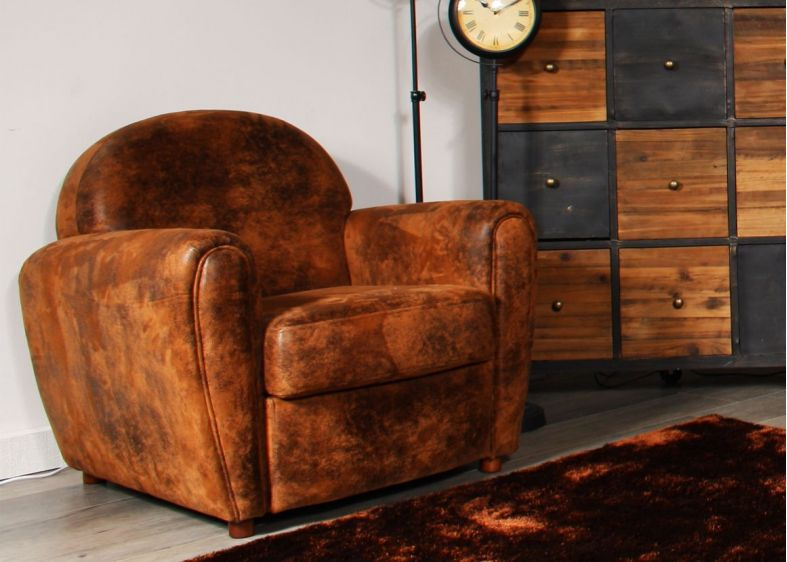 CLUB - Fauteuil Fixe