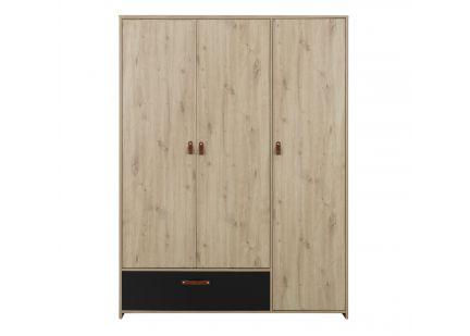 ARTHUS - Armoire 3 portes 1...
