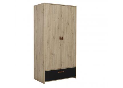 ARTHUS - Armoire 1 portes 1 tiroir