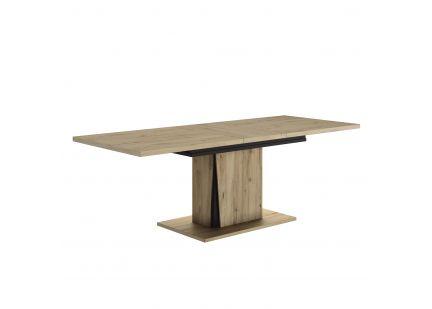 CRACK - Table rectangulaire avec allonge de 45cm