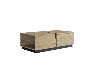 CRACK - Table basse 1 Tiroir 1 Niche