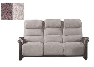 OUESSANT - Canapé 3 places Relax Electrique avec tablette