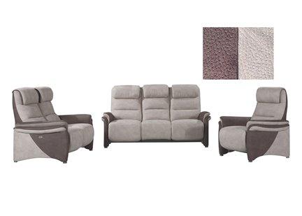SOFT CONFORT - Canapé 3 places en Tissu de Qualité