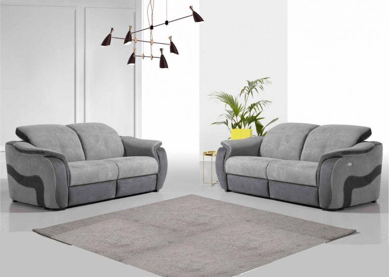tourmalet banquette bz matelas bultex en tissu b. Black Bedroom Furniture Sets. Home Design Ideas
