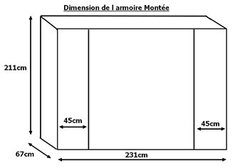 JOHANA - Table Basse Rectangulaire