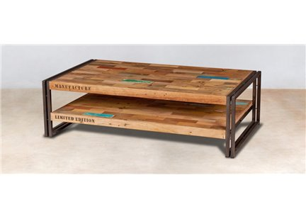 MANUFACTURE  - Table Basse Rectangulaire double plateau