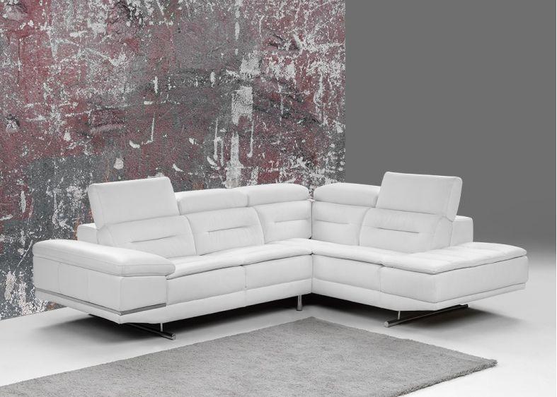 c9ad64d2ef8 FRIDAY - Canapé d angle Fixe 100% Cuir