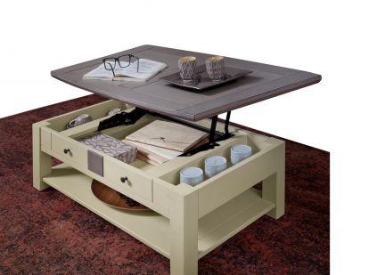 MAGELLAN - Table Basse Dinatoire