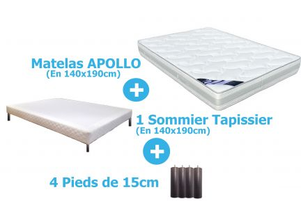 PACK APOLLO en 140x190cm