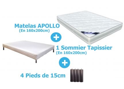 PACK APOLLO en 160x200cm