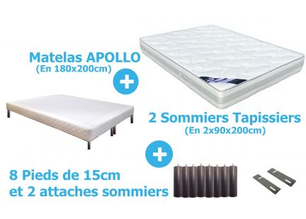 PACK APOLLO en 180x200cm