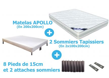 PACK APOLLO en 200x200cm